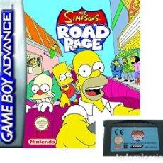 Videojuegos y Consolas: LOTE OFERTA JUEGO NINTENDO GAME BOY ADVANCE - THE SIMPSONS - ROAD RAGE - SIN CAJA SOLO EL JUEGO. Lote 181405737