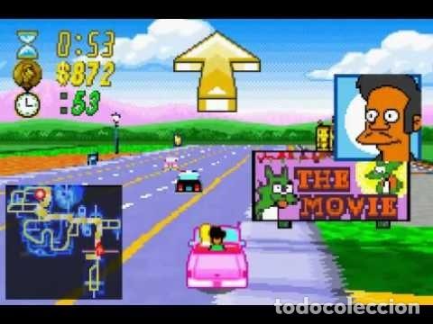 Videojuegos y Consolas: LOTE OFERTA JUEGO NINTENDO GAME BOY ADVANCE - THE SIMPSONS - ROAD RAGE - SIN CAJA SOLO EL JUEGO - Foto 2 - 181405737