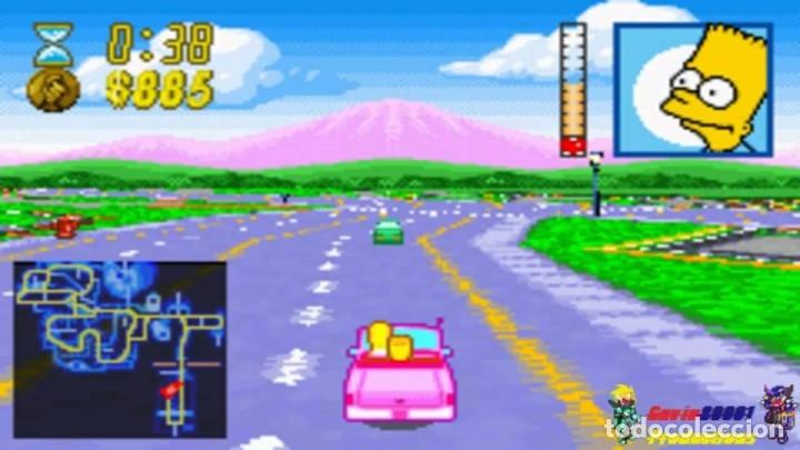 Videojuegos y Consolas: LOTE OFERTA JUEGO NINTENDO GAME BOY ADVANCE - THE SIMPSONS - ROAD RAGE - SIN CAJA SOLO EL JUEGO - Foto 3 - 181405737