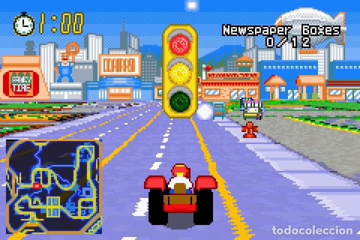 Videojuegos y Consolas: LOTE OFERTA JUEGO NINTENDO GAME BOY ADVANCE - THE SIMPSONS - ROAD RAGE - SIN CAJA SOLO EL JUEGO - Foto 4 - 181405737