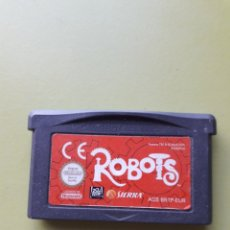 Videojuegos y Consolas: JUEGO DE GAME BOY ADVANCE ROBOTS SIERRA. Lote 182172623