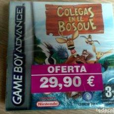 Videojuegos y Consolas: NINTENDO GAMEBOY ADVANCE COLEGAS EN EL BOSQUE NUEVO Y PRECINTADO. Lote 182355663