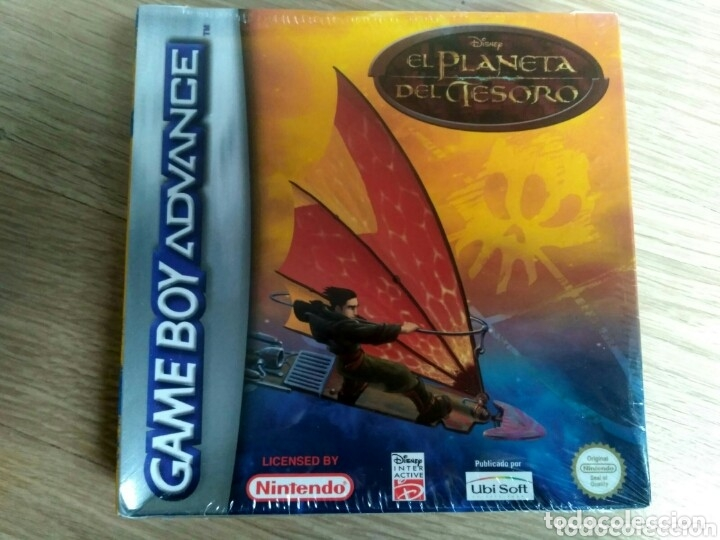 NINTENDO GAMEBOY ADVANCE EL PLANETA DEL TESORO NUEVO (Juguetes - Videojuegos y Consolas - Nintendo - GameBoy Advance)