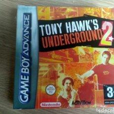 Videojuegos y Consolas: NINTENDO GAMEBOY ADVANCE JUEGO TONY HAWK'S UNDERGROUND 2 NUEVO. Lote 182355931