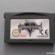Videojuegos y Consolas: NINTENDO GAME BOY ADVANCE GBA KINGDOM HEARTS CHAIN MEMORIES SOLO CARTUCHO PAL! R9626. Lote 182873250