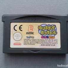 Videojuegos y Consolas: NINTENDO GAME BOY ADVANCE GBA BUBBLE BOBBLE OLD & NEW SOLO CARTUCHO PAL! R9625. Lote 182873392