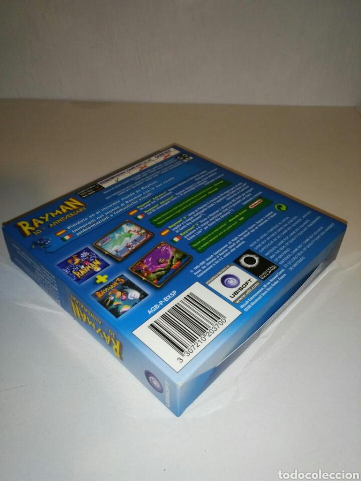 Videojuegos y Consolas: SÓLO CAJA + instrucciones - Rayman 10th Anniversary - Game Boy Advance - Foto 3 - 182917582
