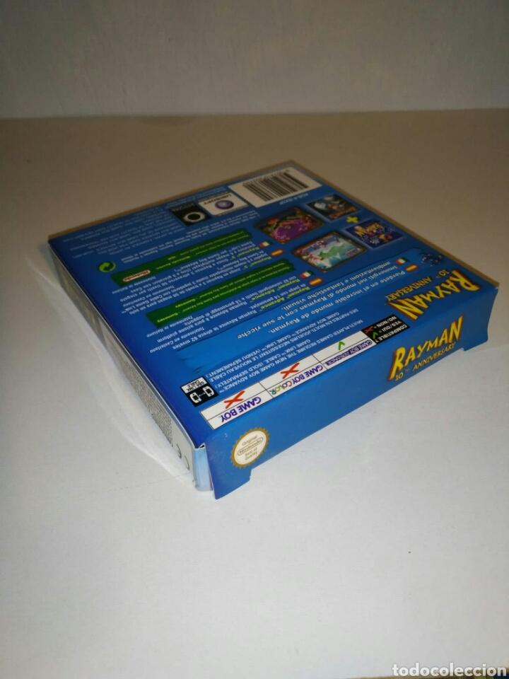 Videojuegos y Consolas: SÓLO CAJA + instrucciones - Rayman 10th Anniversary - Game Boy Advance - Foto 4 - 182917582