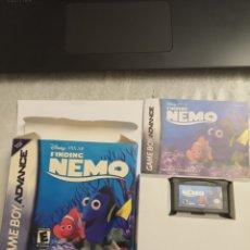 Videojuegos y Consolas: JUEGO BUSCANDO A NEMO DISNEY GAMEBOY ADVANCE NINTENDO GAME BOY. Lote 183060415