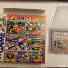 Videojuegos y Consolas: JUEGO GAME BOY ADVANCE 36 EN 1 CODIGO SH36F01. Lote 183063135
