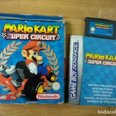 Videojuegos y Consolas: MARIO KART SUPER CIRCUIT - GAME BOY ADVANCE GBA PAL ESP. Lote 183273641