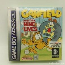 Videojuegos y Consolas: JUEGO GAMEBOY GAME BOY ADVANCE PRECINTADO, GARFIELD. Lote 183279715