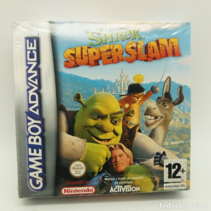 JUEGO GAMEBOY GAME BOY ADVANCE PRECINTADO, SHREK SUPER SLAM (Juguetes - Videojuegos y Consolas - Nintendo - GameBoy Advance)