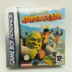 Videojuegos y Consolas: JUEGO GAMEBOY GAME BOY ADVANCE PRECINTADO, SHREK SUPER SLAM. Lote 183279806