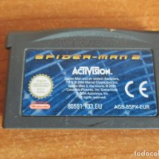 Videojuegos y Consolas: NINTENDO GAME BOY: GAMEBOY ADVANCE JUEGO SPIDERMAN 2. Lote 183720650