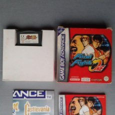 Videojuegos y Consolas: GAMEBOY ADVANCE GBA FINAL FIGHT ONE COMPLETO CON CAJA Y MANUAL BOXED PAL EUR R9721. Lote 183997376