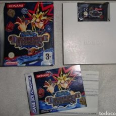 Videojuegos y Consolas: YU-GI-OH! DUNGEONDICE MONSTERS ORIGINAL COMPLETO NUEVO GAME BOY GAMEBOY ADVANCE NINTENDO DS. Lote 184100090