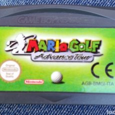 Videojuegos y Consolas: MARIO GOLF ADVANCE TOUR ORIGINAL NINTENDO GAME BOY ADVANCE. Lote 184100692
