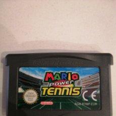 Videojuegos y Consolas: MARIO POWER TENNIS PARA GAME BOY ADVANCE. Lote 184625770