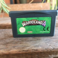 Videojuegos y Consolas: GAME BOY ADVANCE WARIOLAND 4. GAMEBOY. FUNCIONA. EN CASTELLANO.. Lote 186248047