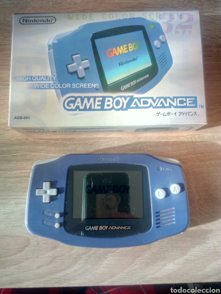 GAME BOY ADVANCE (Juguetes - Videojuegos y Consolas - Nintendo - GameBoy Advance)