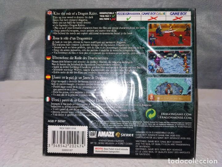 Videojuegos y Consolas: Juego game boy advance Eragon - Foto 2 - 187299936