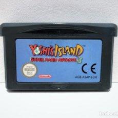 Videojuegos y Consolas: YOSHI'S ISLAND SUPER MARIO ADVANCE 3 NINTENDO GAME BOY ADVANCE. Lote 190332205