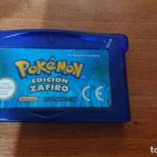 Videojuegos y Consolas: POKEMON EDICION ZAFIRO GAME BOY ADVANCE. Lote 190433536