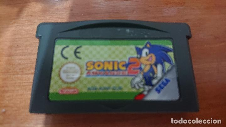 SONIC 2 ADVANCE GAME BOY ADVANCE (Juguetes - Videojuegos y Consolas - Nintendo - GameBoy Advance)
