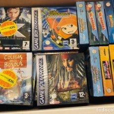 Videojuegos y Consolas: LOTE JUEGOS GAME BOY ADVANCE PRECINTADO. Lote 190557112