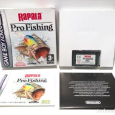 Videojuegos y Consolas: RAPALA PRO FISHING NINTENDO GAME BOY ADVANCE. Lote 190722277