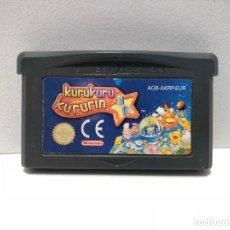 Videojuegos y Consolas: KURUKURU KURURIN NINTENDO GAME BOY ADVANCE. Lote 190796388