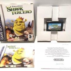 Videojuegos y Consolas: SHREK TERCERO NINTENDO GAME BOY ADVANCE. Lote 190796407