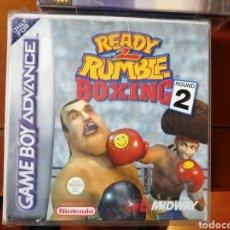 Videojuegos y Consolas: JUEGO READY 2 RUMBLE BOXING ROUND 2 PARA NINTENDO GAMEBOY ADVANCED. Lote 190836361
