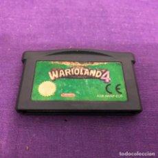 Videojuegos y Consolas: JUEGO WARIO LAND 4 SOLO CARTUCHO NINTENDO GAME BOY ADVANCE. Lote 190843565