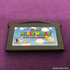 Videojuegos y Consolas: JUEGO SUPER MARIO WORLD AMERICANO SOLO CARTUCHO NINTENDO GAME BOY ADVANCE. Lote 190843571