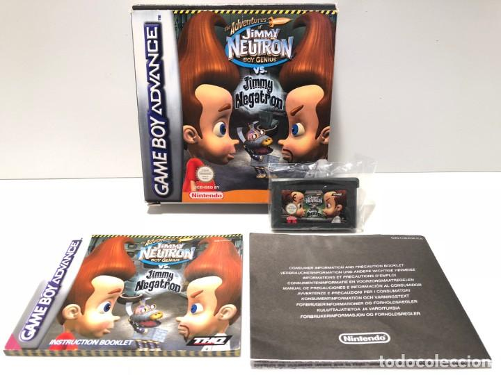 THE ADVENTURES OF JIMMY NEUTRON VS JIMMY NEGATRON NINTENDO GAME BOY ADVANCE (Juguetes - Videojuegos y Consolas - Nintendo - GameBoy Advance)