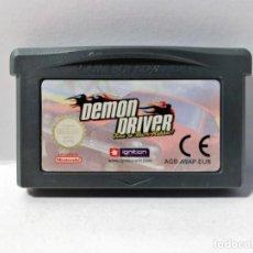 Videojuegos y Consolas: DEMON DRIVER GAME BOY ADVANCE. Lote 190845846
