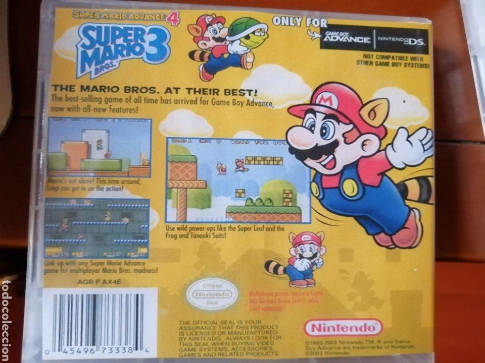Videojuegos y Consolas: Juego Super Mario Bros 3 para Nintendo Gameboy Advance - Foto 2 - 190881118
