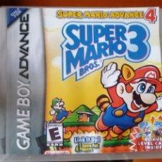 Videojuegos y Consolas: JUEGO SUPER MARIO BROS 3 PARA NINTENDO GAMEBOY ADVANCE. Lote 190881118