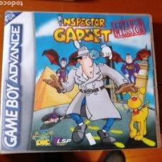 Videojuegos y Consolas: JUEGO INSPECTOR GADGET PARA NINTENDO GAMEBOY ADVANCE. Lote 190881321