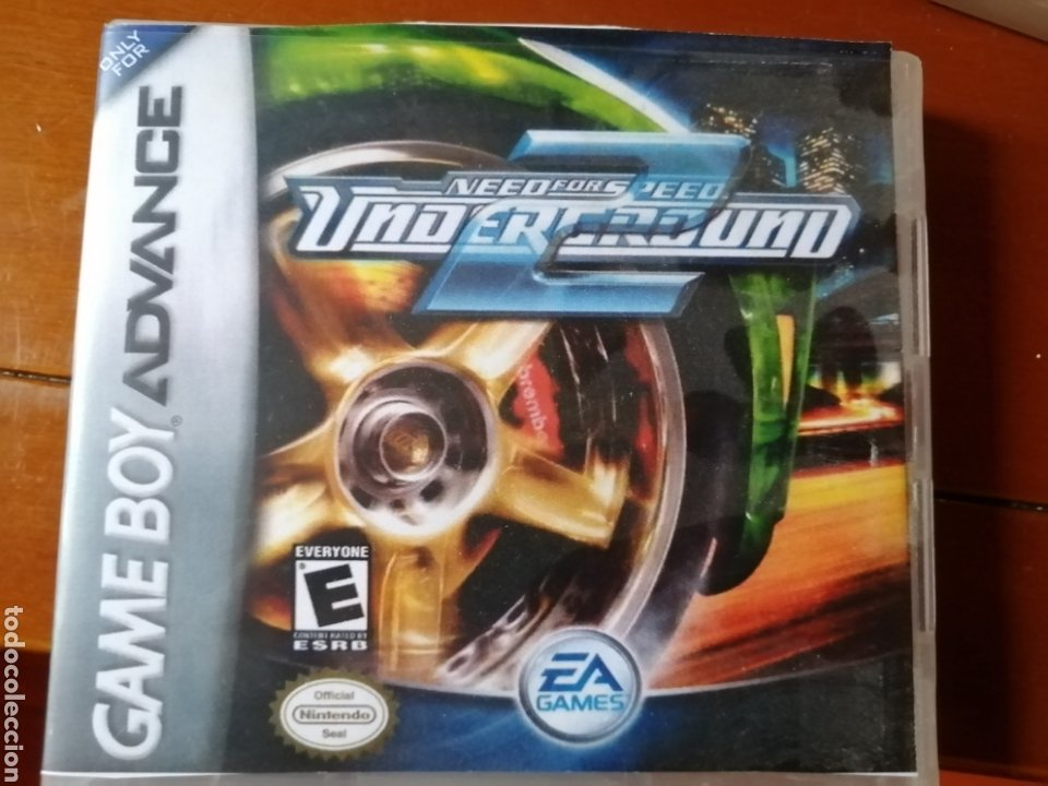 JUEGO NEED FOR SPEED PARA NINTENDO GAMEBOY ADVANCE (Juguetes - Videojuegos y Consolas - Nintendo - GameBoy Advance)
