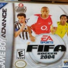 Videojuegos y Consolas: JUEGO FIFA SOCCER 2004 PARA NINTENDO GAMEBOY ADVANCE. Lote 191027991