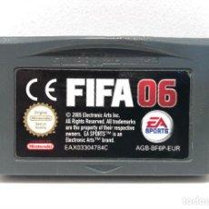 Videojuegos y Consolas: FIFA 06 NINTENDO GAME BOY ADVANCE. Lote 191337108