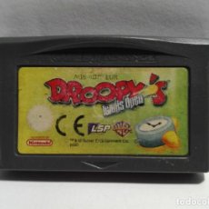 Videojuegos y Consolas: DROOPY'S TENNIS OPEN NINTENDO GAME BOY ADVANCE. Lote 191337157