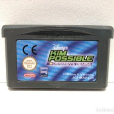 Videojuegos y Consolas: KIM POSSIBLE 2 CONTRA EL DOCTOR DRAKKEN NINTENDO GAME BOY ADVANCE. Lote 191337191