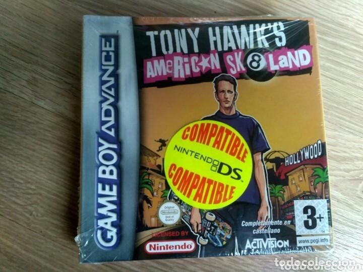 TONY HAWK'S AMERICAN SK8LAND DE ACTIVISION AGB-P-BH9X PARA LA NINTENDO GAME BOY ADVANCE GBA NUEVO (Juguetes - Videojuegos y Consolas - Nintendo - GameBoy Advance)