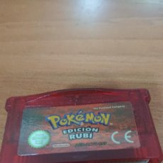 Videojuegos y Consolas: POKEMON EDICION RUBI GAMEBOY ADVANCE. Lote 191636476