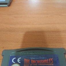 Jeux Vidéo et Consoles: THE INCREDIBLES GAMEBOY ADVANCE. Lote 191641472