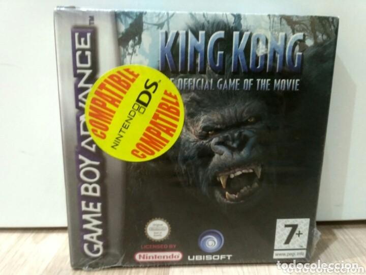 NINTENDO GAMEBOY ADVANCE JUEGO KING KONG NUEVO (Juguetes - Videojuegos y Consolas - Nintendo - GameBoy Advance)